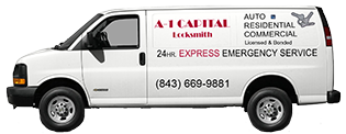 a-a capital locksmith van
